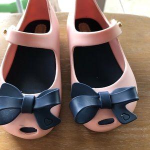 Mini Melissa Size 7 toddler girls shoe